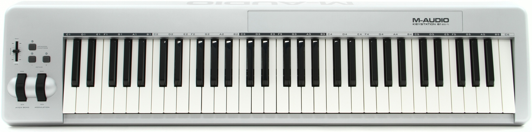 m audio keystation 61es keyboard with subscription playground sessions. Black Bedroom Furniture Sets. Home Design Ideas