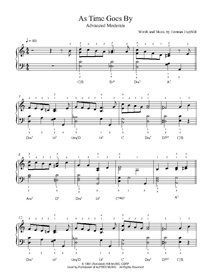 flood time piano sheet music pdf